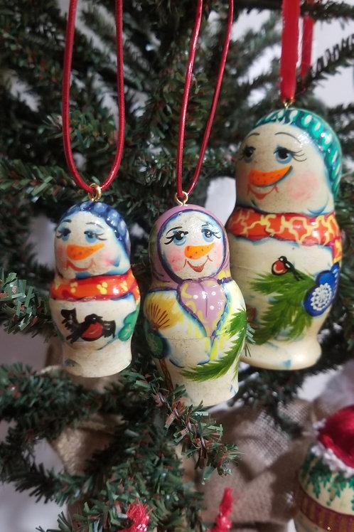 Christmas tree ornament,3 pcs