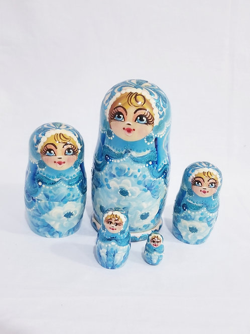 Nesting doll 5 pieces