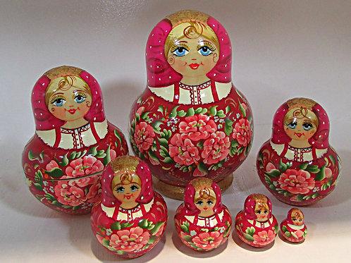 Nesting doll 10 pcs
