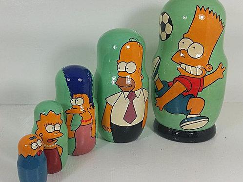 Simpsons 5 pcs set