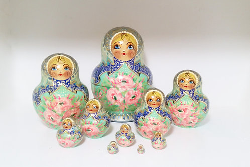 Unique 10 pieces Nesting Doll