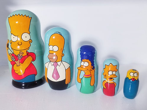 simpsons nesting doll