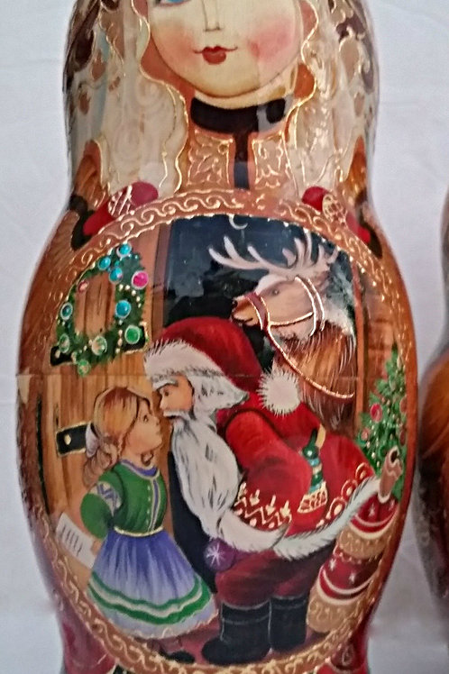 7 pieces one of kind nesting doll