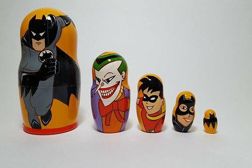 5 pieces Batman and friends