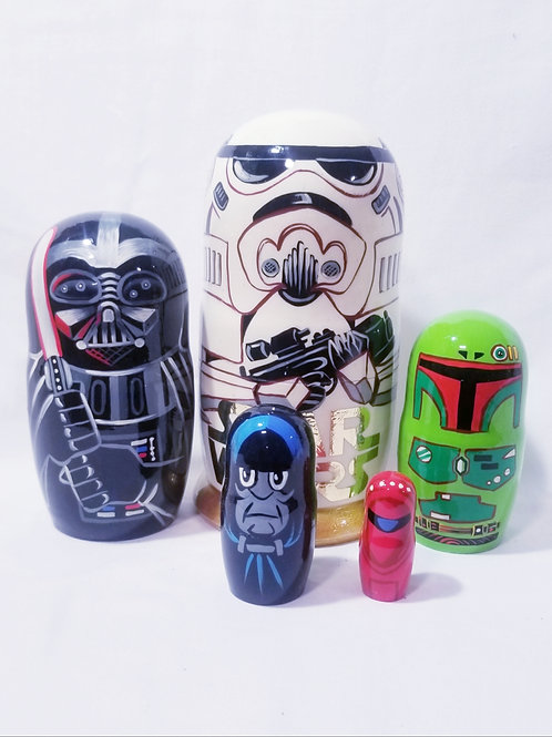 Star wars. Hand Painted 5pcs