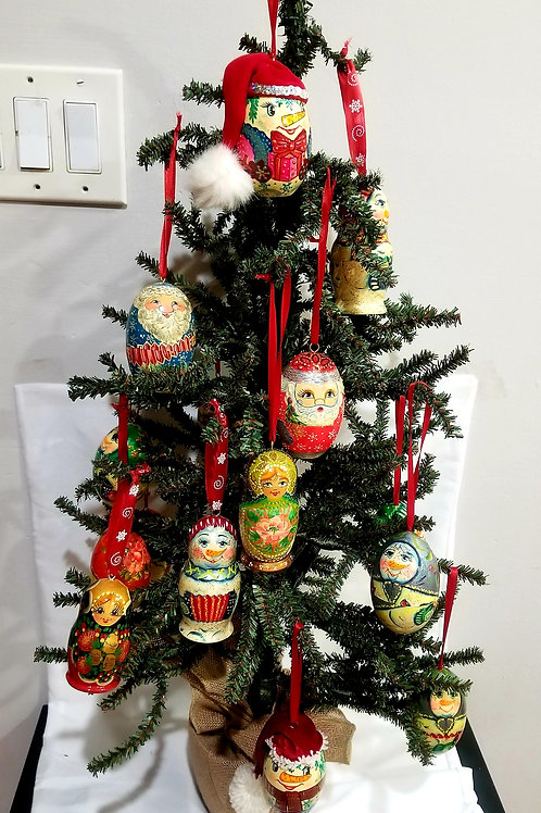 Christmas tree ornament, 1x$15 2x$25