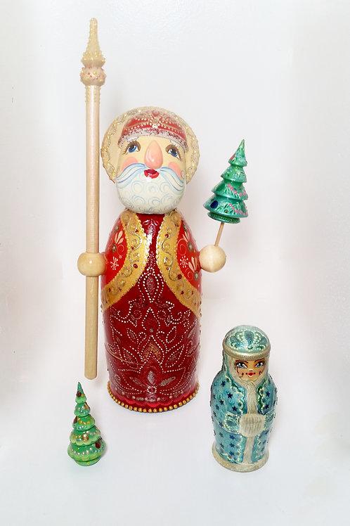 Santa Claus 3 pieces set