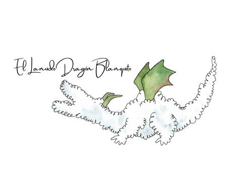 El Lanudo Dragón Blanquito