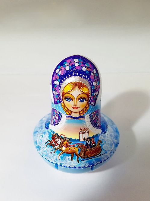 "Roly Poly-""Nevalyashka"" 4 in high"