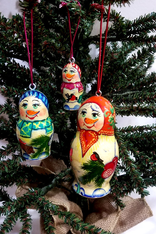 Christmas tree ornament 3 pieces