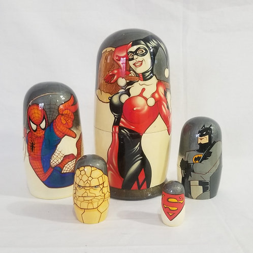 Harley Queen and friends 5 pcs
