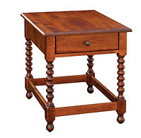 Chester End Table | Brown Maple in Michaels OCS113 | 22in W x 26in D x 25in H | The Amish Home | Amish Furniture at the Pittsburgh Mills