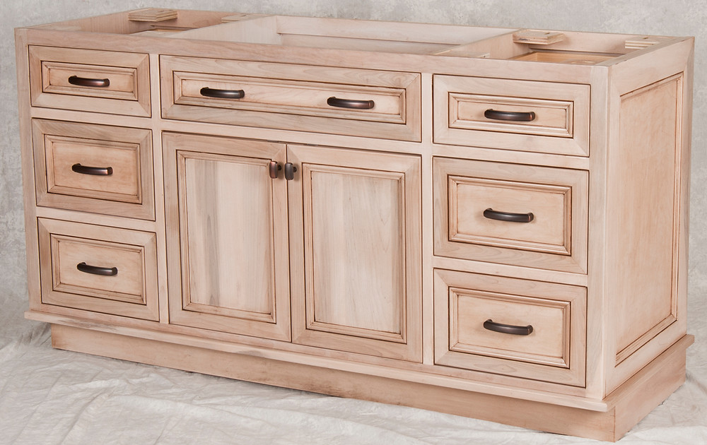 Brown Maple Vanity