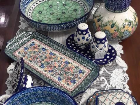 New Polish Pottery Arrivals
