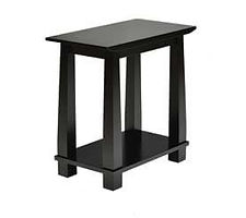 Avon End Table|Brown Maple in Onyx OCS230|13in W x 24in D x 23in H|The Amish Home|Amish Furniture at the Pittsburgh Mills