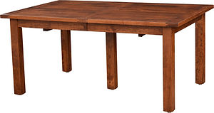 American furniture extension farm table farmhouse furniture Amish furniture Pittsburgh Mills