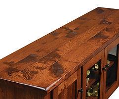 Barn Floor - Rustic Quartersawn White Oak Detail