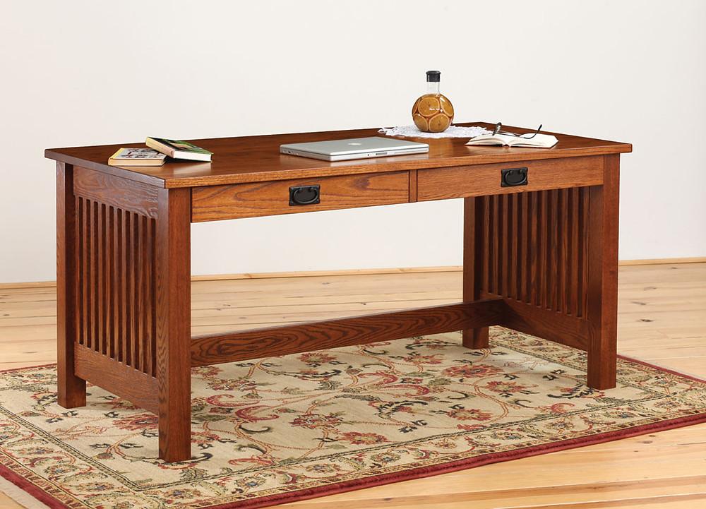 Glen Mission Table Desk - Home Office Furniture