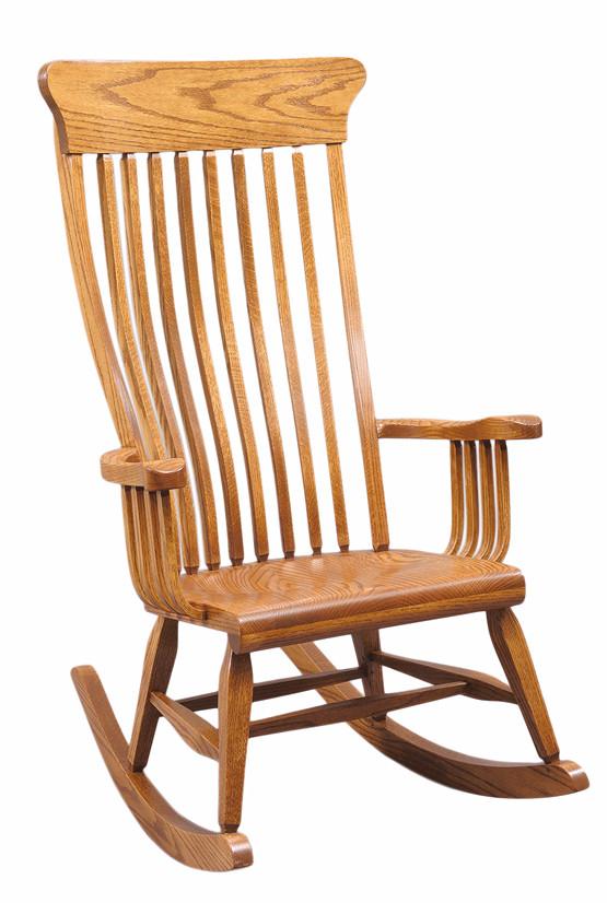 H&G Wood Support Rocker in oak