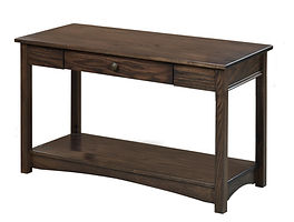 Nelson's Economy Traditional Sofa Table | Oak in Cocoa OCS122 | 36in W x 18in D x 30in H | The Amish Home | Amish Furniture at the Pittsburgh Mills