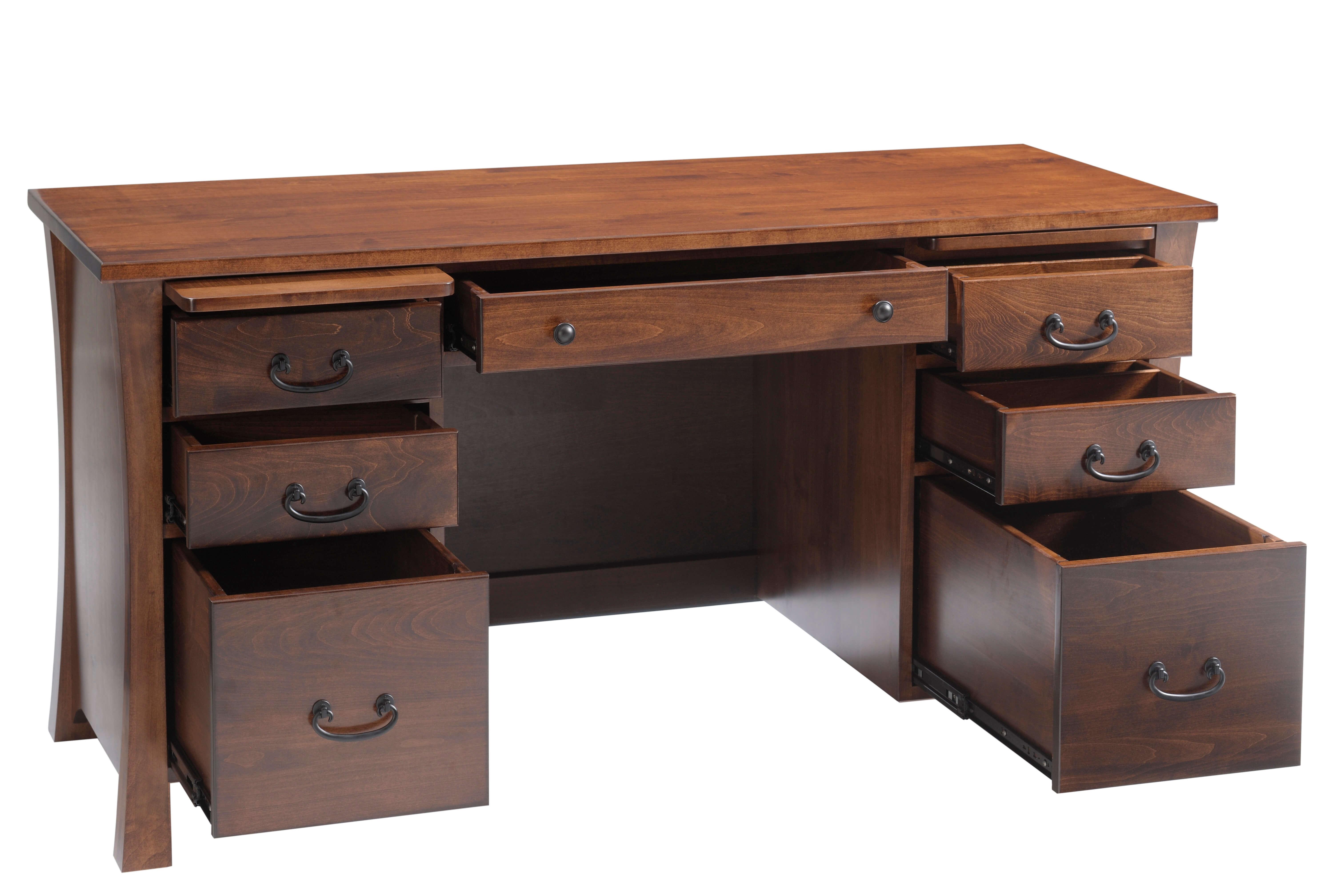 Woodbury Pencil Desk