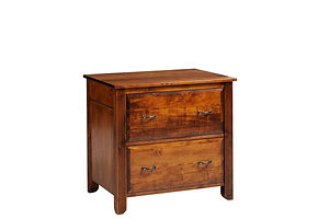 Arlington Lateral File Cabinet|Brown Maple in Michaels OCS113|32 1/4in W x 24in D x 30 3/4in H|The Amish Home|Amish Furniture at the Pittsburgh Mills