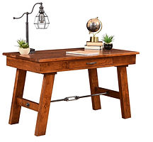 Hawthorne Writing Table | Cherry in Michaels OCS113 | 54in W x 28in D x 30 1/2in H | The Amish Home | Amish Furniture at the Pittsburgh Mills