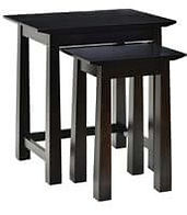 Avon Nesting Tables|Brown Maple in Onyx OCS230|The Amish Home|Amish Furniture at the Pittsburgh Mills