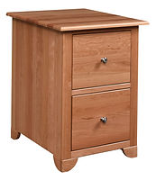 Cherry Valley File Cabinet | Cherry in Natural OCS100 | 21in W x 25in D x 30in H | The Amish Home | Amish Furniture at the Pittsburgh Mills