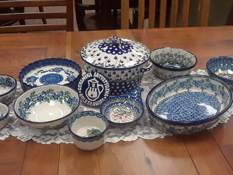 Bake and Serve with Polish Pottery