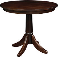 Amish furniture near me round bar table heavy duty kitchen table Amish furniture Pittsburgh Mills