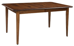 Spencer Dining Table | Brown Maple in Michaels OCS113 | in W x in D x in H | The Amish Home | Amish Furniture at the Pittsburgh Mills