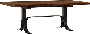 American dinner table industrial dining table rustic table Amish furniture Pittsburgh Mills