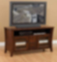 Riviera TV Stand|Brown Maple in Rich Tobacco OCS228|Three Sizes Available|The Amish Home|Amish Furniture at the Pittsburgh Mills