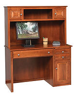 Student Desk|Brown Maple in Michaels OCS113|48in W x 20in D x 60in H|The Amish Home|Amish Furniture at the Pittsburgh Mills