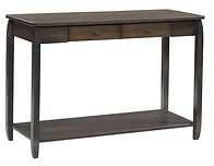 Apache Sofa Table | Brown Maple in Antique Slate OCS118 | 36in W x 18in D x 30in H | The Amish Home | Amish Furniture at the Pittsburgh Mills