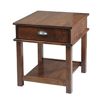 Buckhannon End Table | Brown Maple in Michaels OCS113 | 22in W x 24in D x 24in H | The Amish Home | Amish Furniture at the Pittsburgh Mills