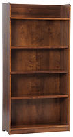 Rivertowne Bookcase|Brown Maple in Michaels OCS113|36in W x 13 1/4in D x 72in H|The Amish Home|Amish Furniture at the Pittsburgh Mills