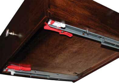 2.	Upgrade drawer glides (full extension, soft close, undermount)