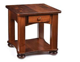 Classic - Arch Frame End Table|Brown Maple in Michaels OCS113|22in W x 24in D x 24in H|The Amish Home|Amish Furniture at the Pittsburgh Mills