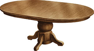 Amish tables dining table w leaf small kitchen table Amish furniture Pittsburgh Mills