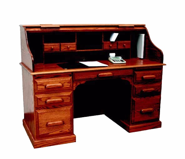 Country Home Roll Top Desk