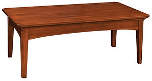 Westchester Coffee Table|Rustic Cherry in Michaels OCS113|50in W x 28in D x 19 1/2in H|The Amish Home|Amish Furniture at the Pittsburgh Mills