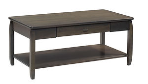 Apache Coffee Table|Brown Maple in Antique Slate OCS118|42in W x 22in D x 18in H|The Amish Home|Amish Furniture at the Pittsburgh Mills