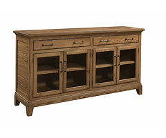 Koehler Road Buffet | Oak in S-14 OCS108 | 75in W x 20in D x 41in H | The Amish Home | Amish Furniture at the Pittsburgh Mills