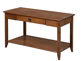 Nelson's Economy Shaker Sofa Table | Rustic Cherry in S-14 OCS108 | 36in W x 18in D x 30in H | The Amish Home | Amish Furniture at the Pittsburgh Mills