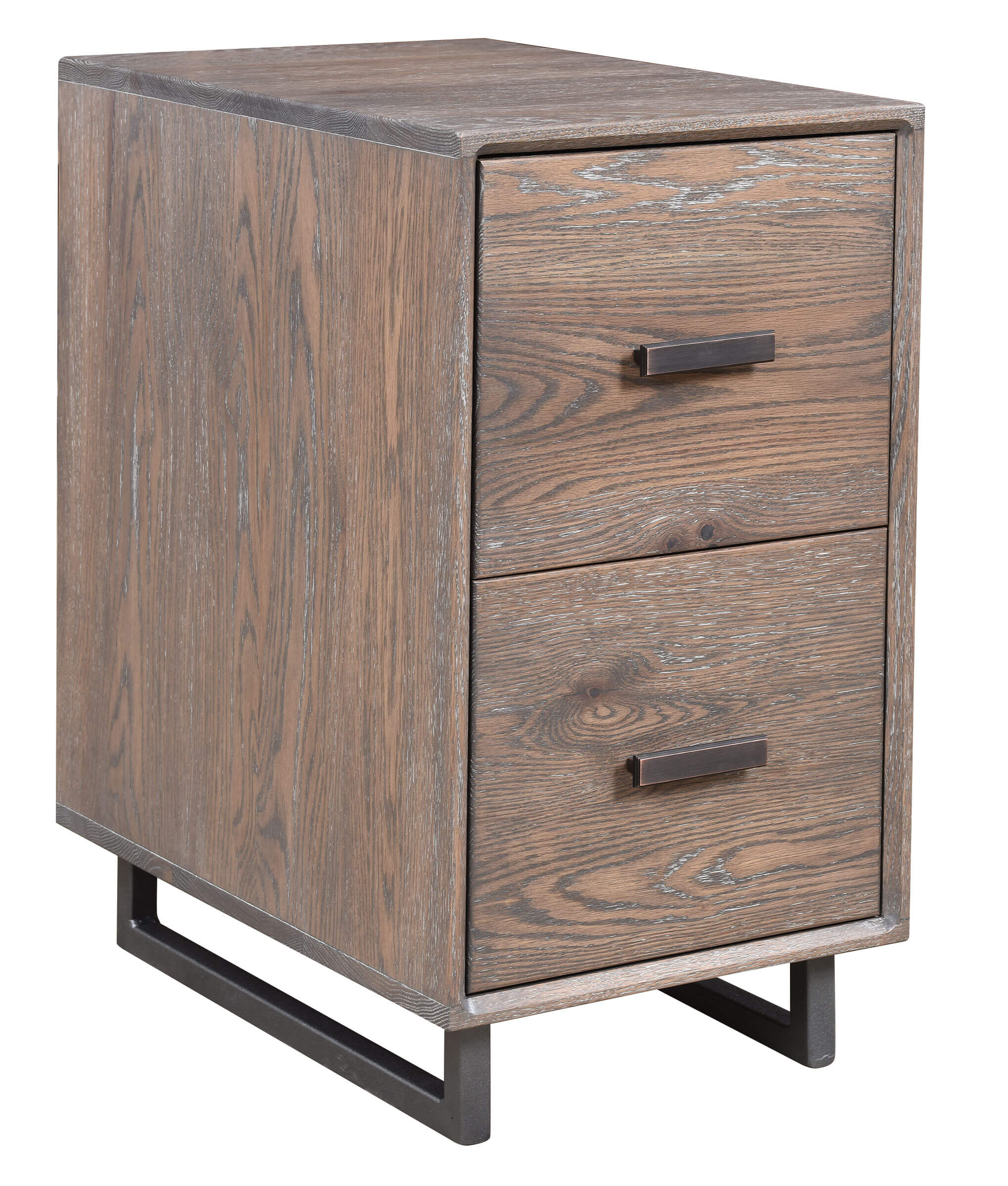 Capri File Cabinet with metal base