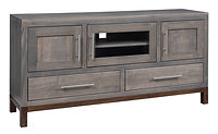 Vienna TV Stand | Brown Maple in Two-toned | 60in W x 16in D x 30in H | The Amish Home | Amish Furniture at the Pittsburgh Mills