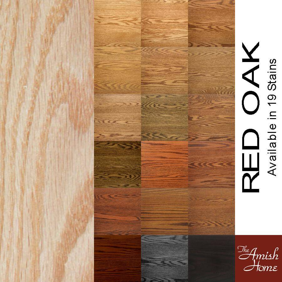 Finish options wood species stains for your handcrafted furniture the amish home celebrating 15 years of hardwood furniture