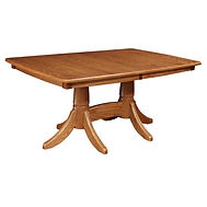 trailway bavaria table wengerd master upholstered chair seely stain red oak OCS
